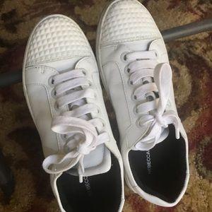 Rebecca Minkoff White Leather Sneakers